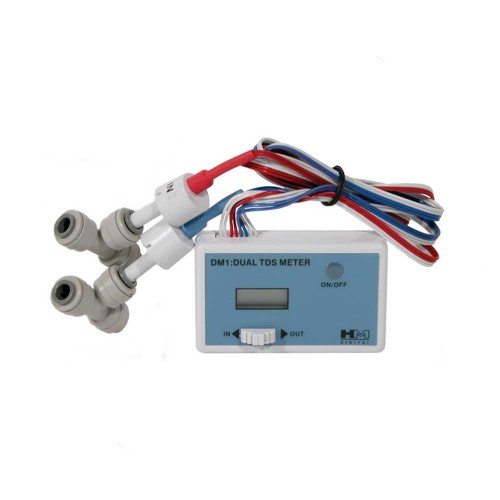 Dispozitiv de masurare TDS, Aquafilter DM1 TDS81, dual, intrare si iesire