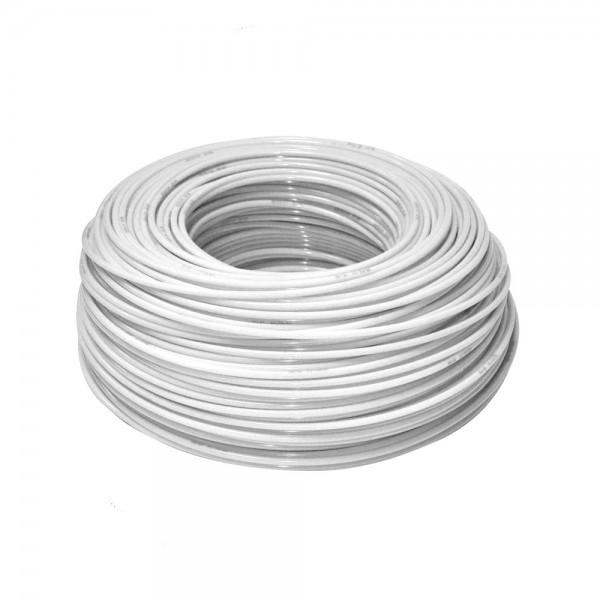 Tub flexibil alb, Aquafilter KTPE14W, diametru 1/4...