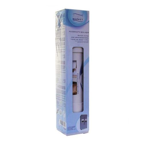 Filtru de apa inline pentru frigider, Aquafilter FCCBKDF3-QM-AQM, kit cu cleme si conectori