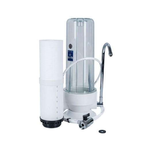 Aquafilter FHCTF, filtru de apa in 2 stadii cu montare pe blatul din bucatarie