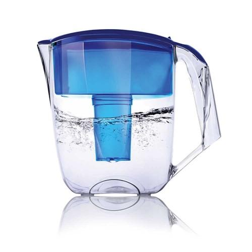 Cana de filtrare, Ecosoft MAXIMA 5L, albastra, cu ecomix, carbune activat si polipropilena