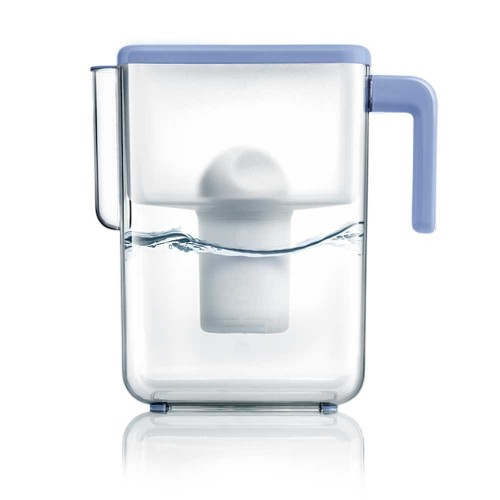 Cana de filtrare, Ecosoft SLIM 3.5L, pentru usa frigiderului, cu ecomix, carbune activat si polipropilena