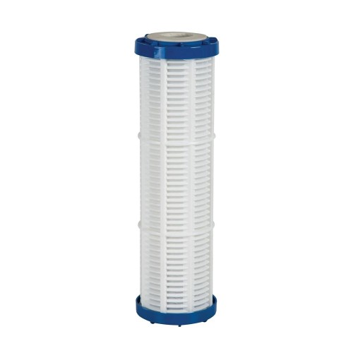 Cartus cu plasa nylon, lavabil, 50 microni, AquaFilter FCPNN50M, standard 10
