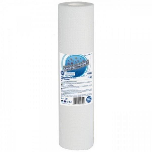Cartus din polipropilena, AquaFilter FCPS5, 5 micr...