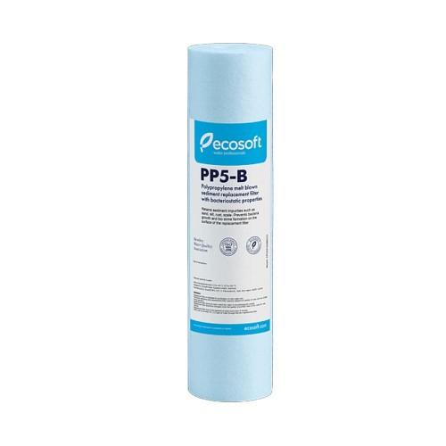 Cartus din polipropilena, bacteriostatic, 5 microni, Ecosoft CPV25105B, 10