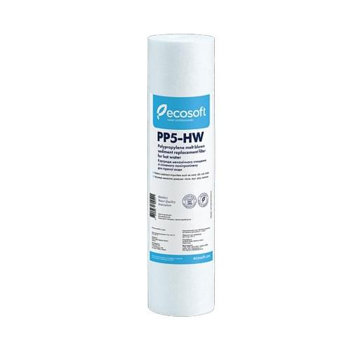 Cartus pentru apa calda, 5 micron, Ecosoft CPV2510HW, 80 grade, standard, 10