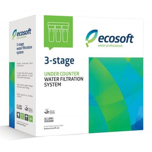 Sistem de microfiltrare, Ecosoft FMV3ECOEXP, 3 stadii cu dedurizare