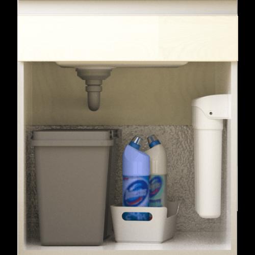 Filtru de apa, Geyser Smart Universal, 3 trepte de filtrare, cartuse cu sistem twist