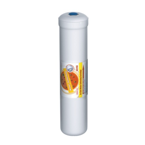 Filtru inline pentru dedurizare, AquaFilter AISTRO-L-AQ, alb, 12