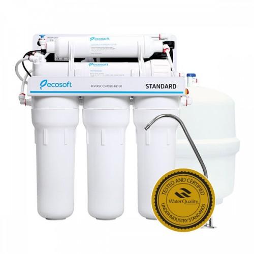 Osmoza inversa cu pompa, Ecosoft Standard MO550PECOSTD, 5 stadii