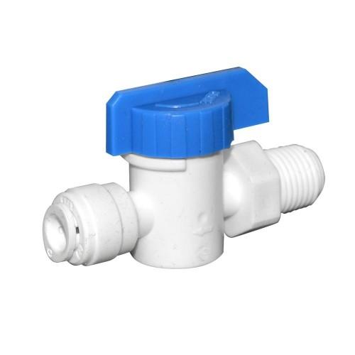 Robinet de alimentare, Aquafilter AQ-SEWBV1414-PP, din plastic cu bila