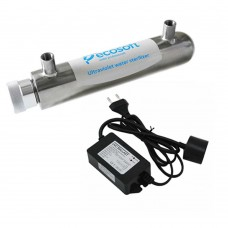 Sterilizator UV 10W, Ecosoft HR60, pachet cu sursa...